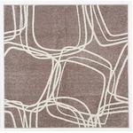 【送料無料】ホット&クール ナイロンラグ レシェ 200×250cm モーヴの画像