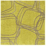 【送料無料】ホット&クール ナイロンラグ レシェ 200×250cm イエローグリーンの画像