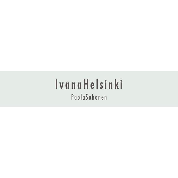 イヴァナヘルシンキ 防ダニ アクセントラグ ラヒテ 140×200cm ネイビー