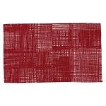 北欧 ラグマット/絨毯 【50cm×80cm レッド】 長方形 防滑 ルールッカ 『イヴァナヘルシンキ』 〔リビング〕