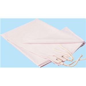 (まとめ)アーテック学級旗/旗用布生地1.25m×900mmポリエステル・綿製ホワイト(白)【×10セット】