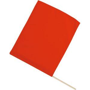 (まとめ)アーテック旗/フラッグ【小】410×300mmポリエステル・綿製レッド(赤)【×40セット】