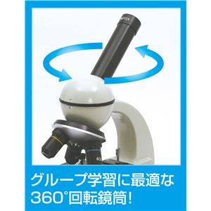ステージ上下顕微鏡 RL600 光源付き 360度回転鏡筒
