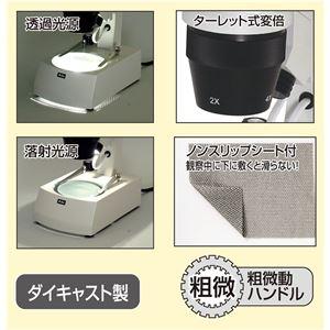 充電式双眼実体顕微鏡