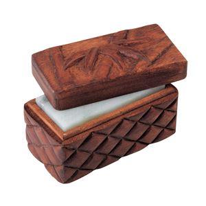(まとめ)アーテック 木彫印かん小箱 ミニ 【×15セット】