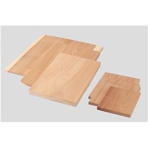 (まとめ)アーテック 木彫板 【桂材 C】 250×170×20mm 【×10セット】