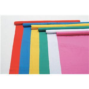 (まとめ)アーテック カラー布 110cm幅 4m切売 赤 【×5セット】