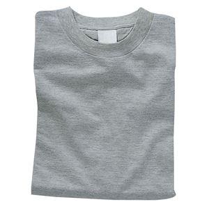 (まとめ)アーテック カラーTシャツ 綿100% 半袖 無地 杢グレー 【×15セット】