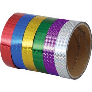 (まとめ)アーテック 粘着ホログラムテープ (10本組) 紫 【×15セット】