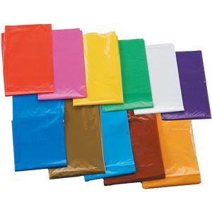 【訳あり・在庫処分】(まとめ)アーテック レッド(赤) カラービニール袋(10枚組) 【×15セット】