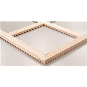 (まとめ)アーテック木枠/キャンバス用品【P4】333×220mm桐材組立済【×15セット】