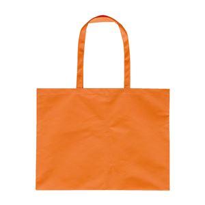 (まとめ)アーテック 作品収納バッグ/トートバッグ 【大】 不織布 オレンジ 【×50セット】 - 拡大画像