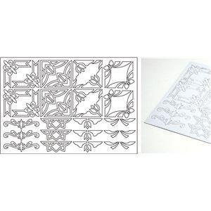 (まとめ)アーテック 銅箔クラフト用切り文字 フレーム 【×60セット】