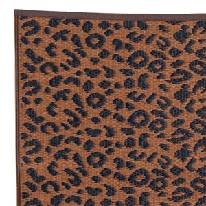 お買得PPラグ 3: 約261×261cm ブラウンヒョウの詳細を見る