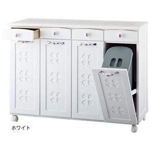 かわいいキッチンダストボックス(ゴミ箱) 【3:...の商品画像