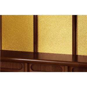 家具調仏壇 【18号】 幅48cm×奥行30cm×高さ55.5cm 木製(桐材) の画像