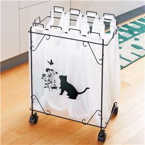 黒ネコ分別ダストボックス/ゴミ箱 【4分別】 ...の関連商品1