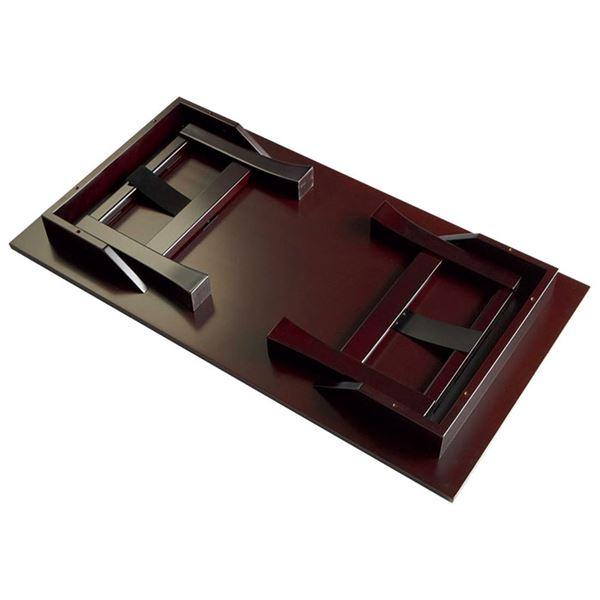 折りたたみ供物台/お供え台 【25号】 幅75cm 木製/パイン材 棚板付き75