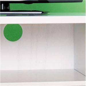 飾れるテレビ台/テレビボード 【幅140cm:40型~60型対応】 ディスプレイラック/引き出し収納付き ホワイト(白) 【完成品】 h03