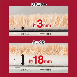 【訳あり・在庫処分】 厚みが選べる カラフルミックスシャギーラグ ダークグリーン 【7: レギュラー約3mm 長方形約230×330cm】