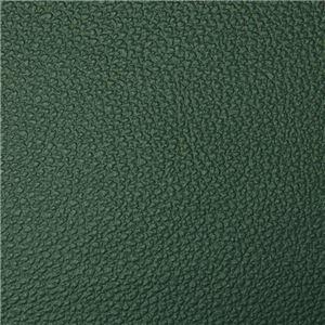 ゆったりボリュームワイドカウチソファ(リクライニングソファ・二人掛ソファ・ポケットコイル) ダークグリーン(PVC)