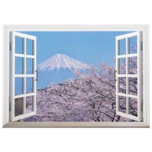 四季の富士 立体ポスター4枚組