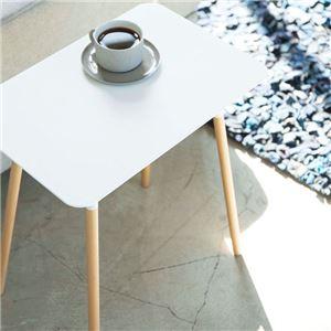 スタイリッシュサイドテーブル ホワイト