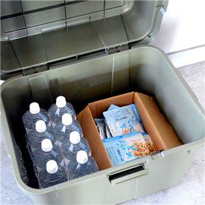 マルチスペースボックスセット【屋内・屋外】【収納ボックス】 ダークグリーン 4個組