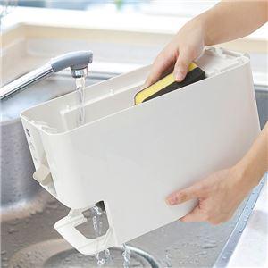 簡単計量 米びつ/ライスストッカー 【レッド 12kg】 幅18.1cm 洗える 計量器 目盛り 窓付き 〔キッチン〕