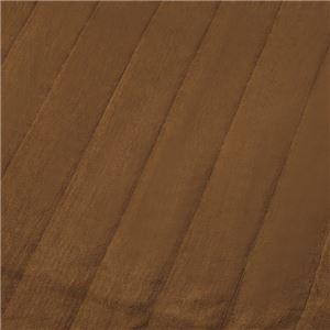 もこもこあったか パーソナルマット/ホットカーペット 【ワイド 200×150cm ブラウン】 洗える ダニ退治機能 日本製