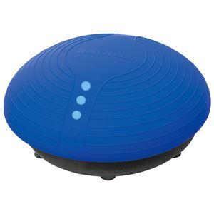 『BALANCE BOY』 エクササイズ器具 【ブルー】 幅50×奥行50×高さ24cm 耐荷重約100kg以下 〔室内 屋内 リビング〕