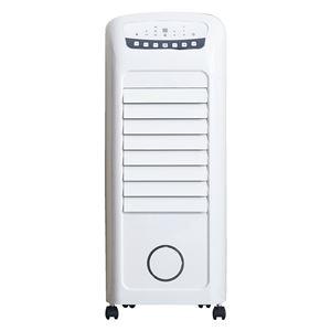 通年使用 温冷風扇/送風機 【幅30.5cm】 加湿機 水タンク5.5L 風量3段調節 切タイマー付 『ヒートアンドクール』 〔リビング〕