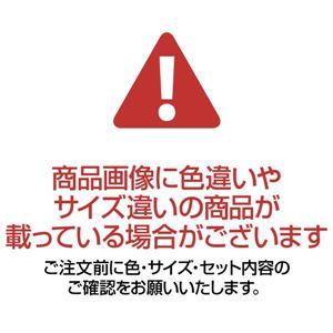 立体カービング ウィルトン織カーペット 【3: パーソナル 約170×170cm】 レッド(赤)