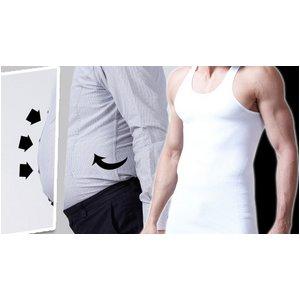 着るだけで、キュッと引き締まったボディライン new body style (ホワイト・XL)