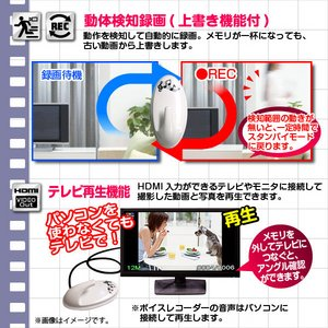 【小型カメラ】【microSDカード32GB+ACアダプターセット】フック型ビデオカメラ(匠ブランド)『Hook-ON』(フックオン)2013年モデル