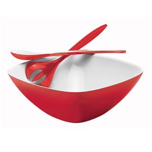 guzzini(グッチーニ) Vintage サラダボール&サーバー レッド 28340065 in gift box10P25Apr13 fs2gm