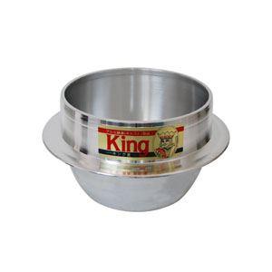King キング釜 カン無し 24cm 1升5合炊き10P25Apr13 fs2gm