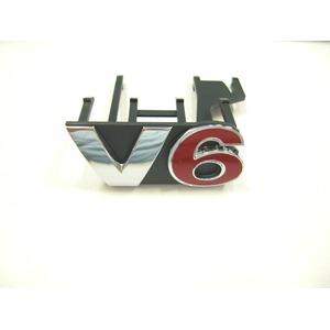 VW純正 GOLF4 R32V6 フロントグリルエンブレムの詳細を見る
