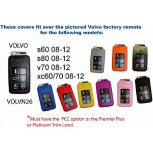 Au キージャケット VOLVO-VON26 レッドの詳細を見る