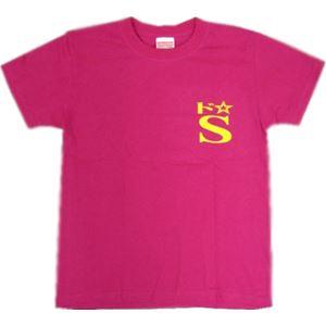 【アホ研究所・アホTシャツ・自虐Tシャツ・おもしろTシャツ】ドエス Mサイズ ピンク - 拡大画像