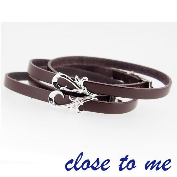SBR13-013014 close to me(クロス・トゥ・ミー) ペアブレスレット ペアf00