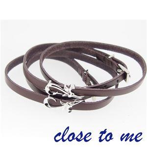 SBR13-013014 close to me(クロス・トゥ・ミー) ペアブレスレット ペア h02