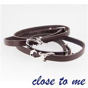 SBR13-013014 close to me(クロス・トゥ・ミー) ペアブレスレット ペア f04