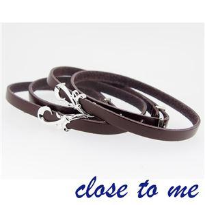 SBR13-013014 close to me(クロス・トゥ・ミー) ペアブレスレット ペア f05