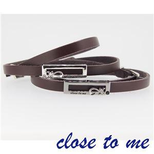 SBR13-037038 close to me(クロス・トゥ・ミー) ペアブレスレット ペア h03