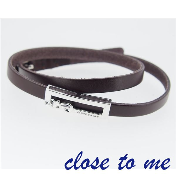 SBR13-038 close to me(クロス・トゥ・ミー) レザーブレスレット レディースf00