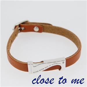 SBR13-040 close to me(クロス・トゥ・ミー) レザーブレスレット レディース h01