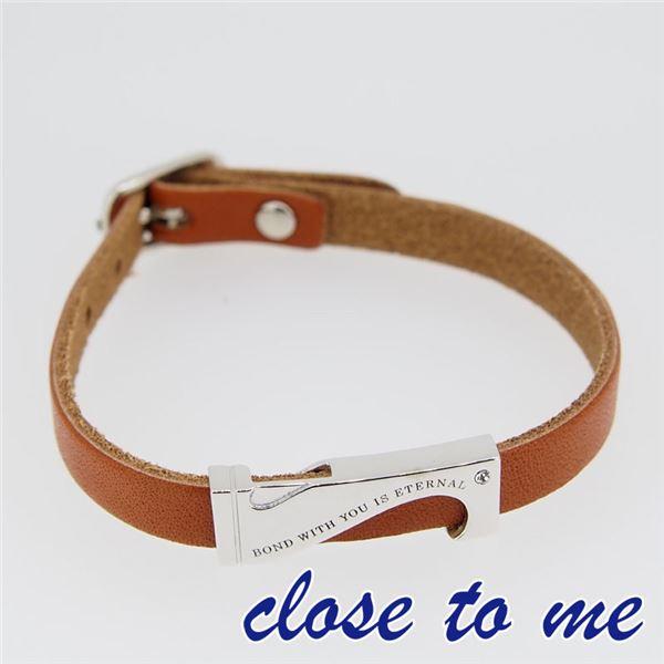 SBR13-040 close to me(クロス・トゥ・ミー) レザーブレスレット レディースf00