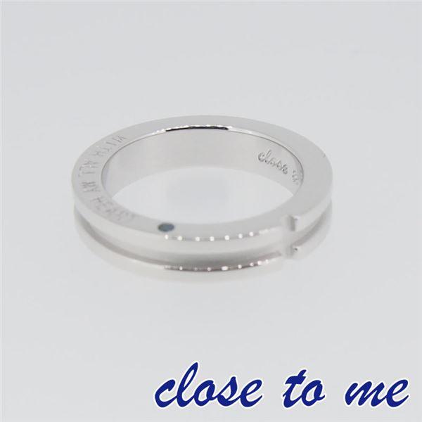 SR14-007 close to me(クロス・トゥ・ミー) シルバーリング ペア 17号f00