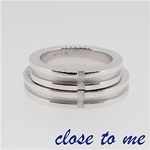 SR14-007 close to me(クロス・トゥ・ミー) シルバーリング ペア 17号 f06